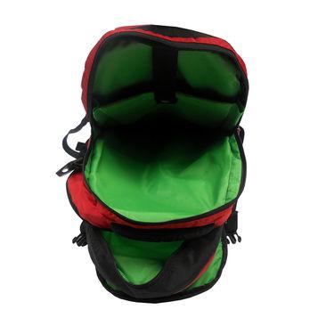 Donex Polyster Rucksack RSC00670 -Red & Black