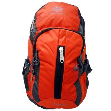 Donex Orange & Grey Rucksack -RSC00827
