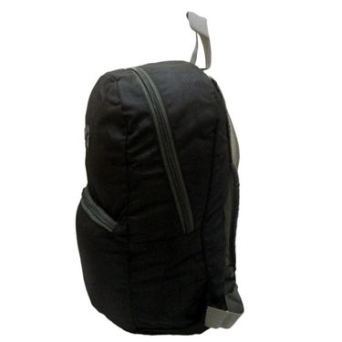 Donex Small size light weight College Backpack Black_RSC00849