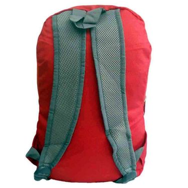 Donex Small size light weight College Backpack Red_RSC00851
