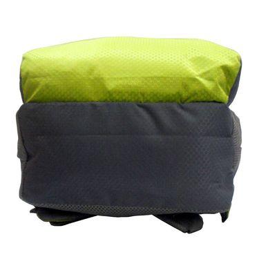 Donex Kool Light weight College Backpack Green Grey_RSC00890