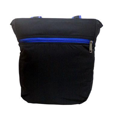 Donex Polyster Soft Shoulder bag Black_RSC00896