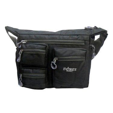 Donex Ruff N Tuff Multipocket Massenger Bag Black_RSC00912