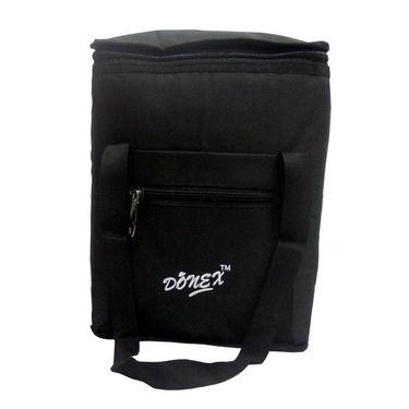 Donex Medium Padded Polyster Lunch Bag Black_RSC00970