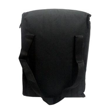 Donex Big Padded Polyster Lunch Bag Black_RSC00972