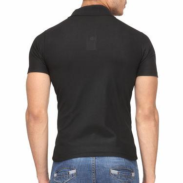 Pack of 5 Rico Sordi Half Sleeves Plain Tshirts_RSD755