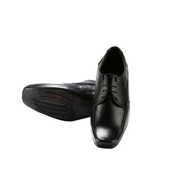 Bacca bucci Genuine Leather Formal Shoes RY-023 - Black