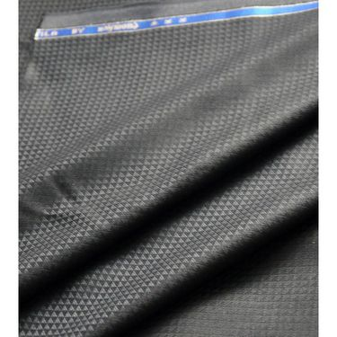 Raymond Polyblended Pant Material For Men_RYMD_PNT_1014_LS_02 - Black