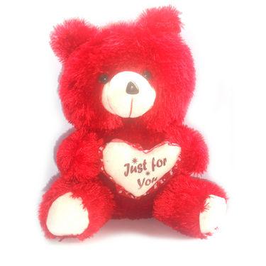 Teddy Bear 3 Feet - Red