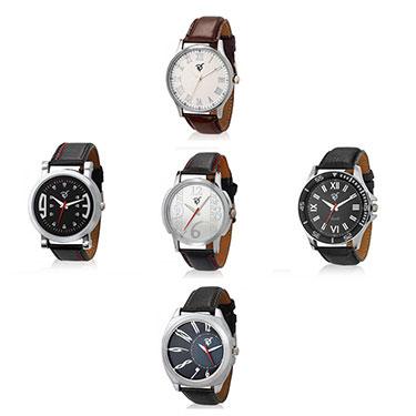 Set of 5 Rico Sordi Analog Wrist Watches
