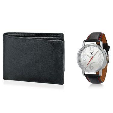 Combo of Rico Sordi Analog Wrist Watch + Wallet_12398209