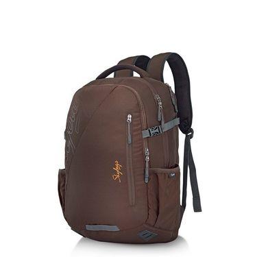 Skybags Brown Laptop Backpack_Teckie 02 Brown