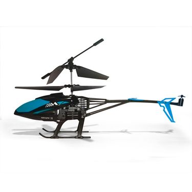 SkyHawk 3.5 CH Helicopter With Gyroscope - Black Blue