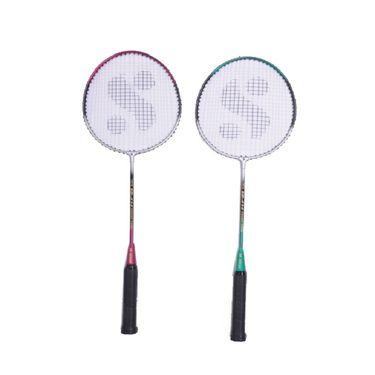 Silver's Pack of 2 Badminton Kit - SIL-BR-SB-414