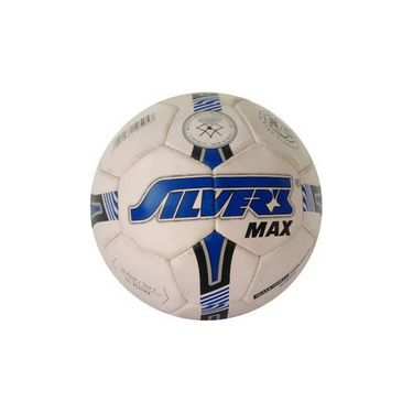 Silver's (Size-5) Max Silfbmax Football - White