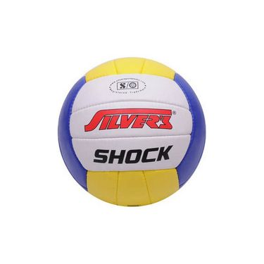 Silver's (Size-4) Shock Silvbshock Volleyball - Multicolor