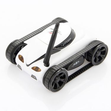 Rechargeable App Controlled Wi-Fi RC Tank with Camera
