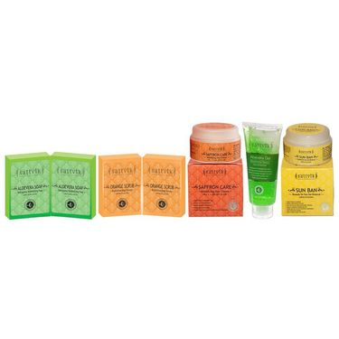 Daily Damage Skin Repair Combo  - Orange Scrub Soap