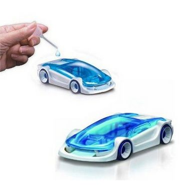 Salt Water Car Educational Toy - No Fuel Required.