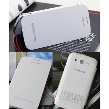 Samsung Galaxy Grand Flip Cover - White