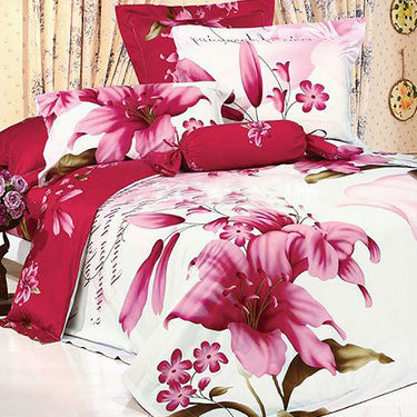 Set of 5 Amazing 3D Bed Sheets with 10 Pillow Covers