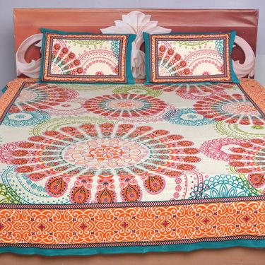 Set of 5 Modern Jaipuri Bedsheets (5BS4)