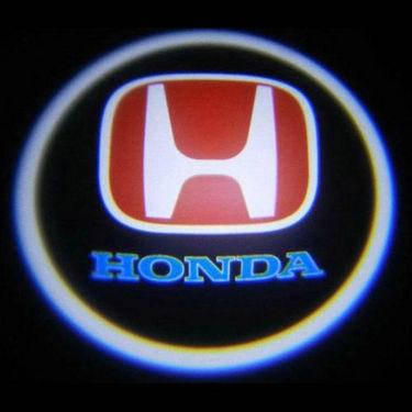 Set of 2 pcs Branded Car Door Welcome Light LED Projection Ghost Shadow Light Laser Honda Logo