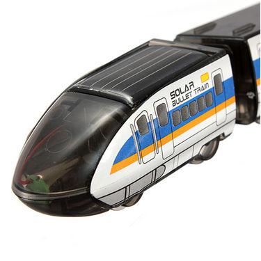 Educational Solar Bullet Train Assemble & Install Toy Kit
