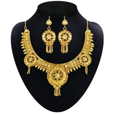 Sonali 1 Gram Gold Plated 9 Jewellery Set