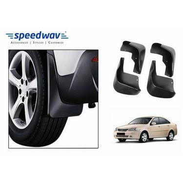 Speedwav Car Mud Flaps Set 4 pcs - Chevrolet Optra (RUBBER STYLE ONLY)