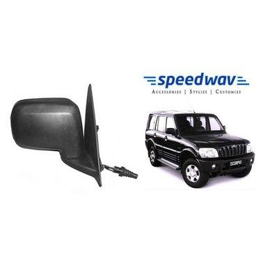 Speedwav Car Side Rear View Mirror Assembly RIGHT - Mahindra Scorpio