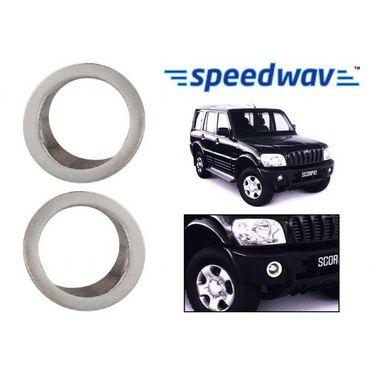 Speedwav Mahindra Scorpio Chrome Fog Lamp Rims