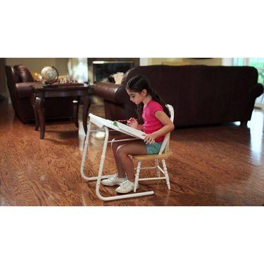Shoper52 Designer Portable Adjustable Dinner Cum Laptop Tray Table-TABLE012