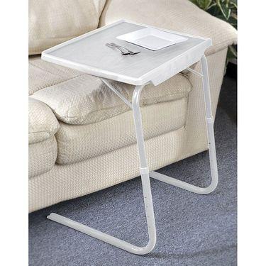 Shoper52 Designer Portable Adjustable Dinner Cum Laptop Tray Table-TABLE066