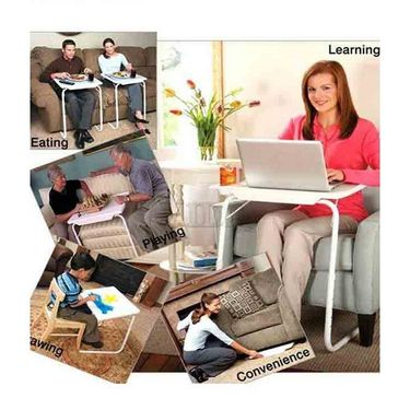 Shoper52 Designer Portable Adjustable Dinner Cum Laptop Tray Table-TABLE069