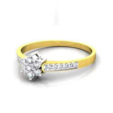 Avsar Real Gold & Swarovski Stone Tamilnadu Ring_T039yb
