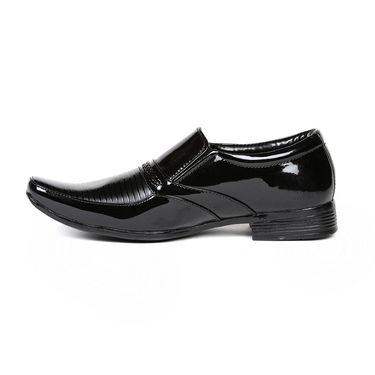 Ten Patent Leather Black Formal Shoes -ts236