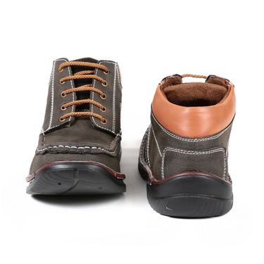 Faux Leather Olive Boots -T24