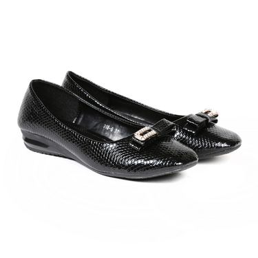 Ten Patent Leather Black Bellies -ts209