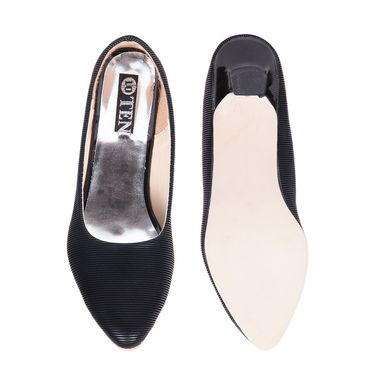 Ten Denim Black Pumps -ts211