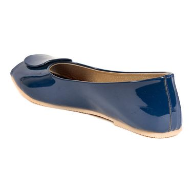 Ten Patent Leather Blue Bellies -ts269