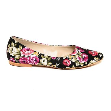 Multi Color Comfort Ballerinas _06Blk02