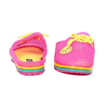 Ten PVC Pink Slippers & Flip-Flops -ts292