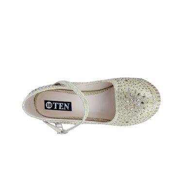 Ten Synthetic Gold Stilettos -ts06