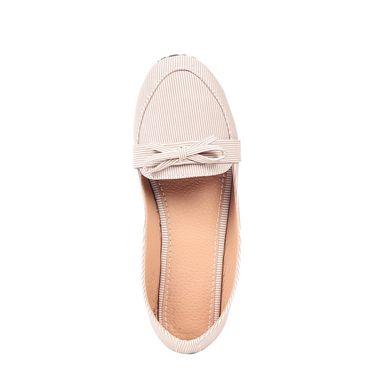 Ten Fabric Beige Loafers -ts129