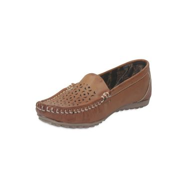 Ten Leather Brown Loafers -ts110