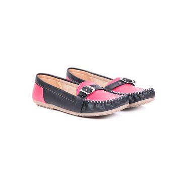 Ten Leather 073 Women's Loafers - Black