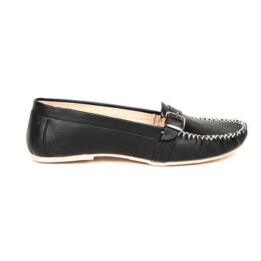 Ten Synthetic Leather Black Loafers -ts300