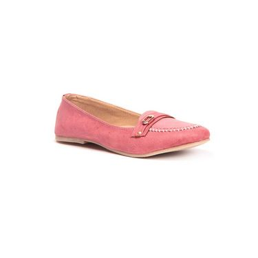 Ten Synthetic Leather 156 Women's Loafers - Red