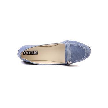 Ten Denim Blue Loafers -ts139